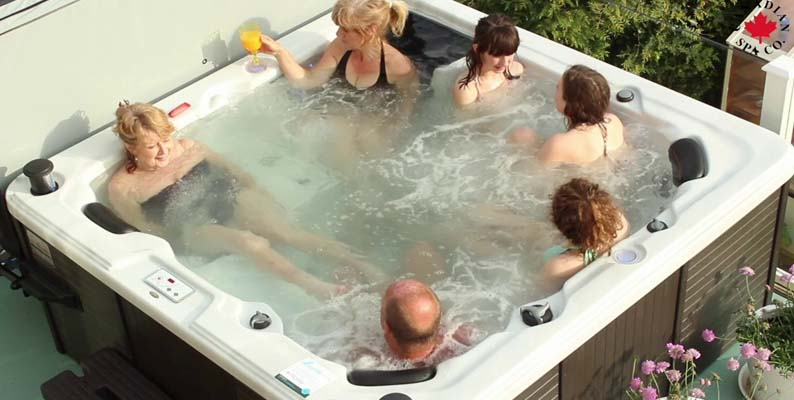 Turn up the Music Hot Tub Party