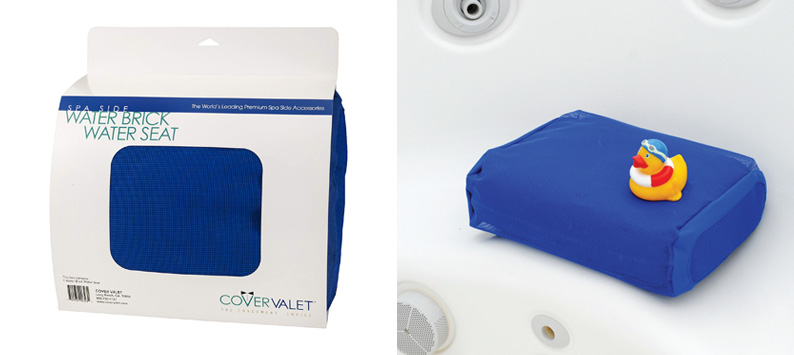 Cover Valet WSBLUE THE WATER BRICK WATER SEAT BLUE