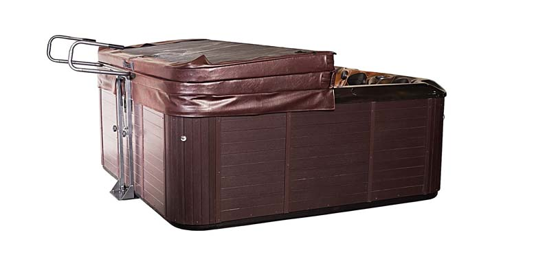 Hot Tub Spa Cover Lift & Storage Caddy Heavy-Duty Top Lifter